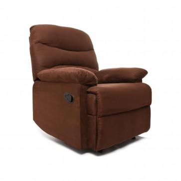 fotel rozkładany libera brąz 2