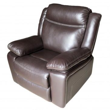 fotel rozkładany libera prime brąz
