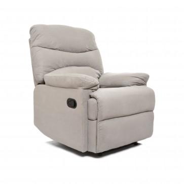 fotel rozkładany libera szary 2